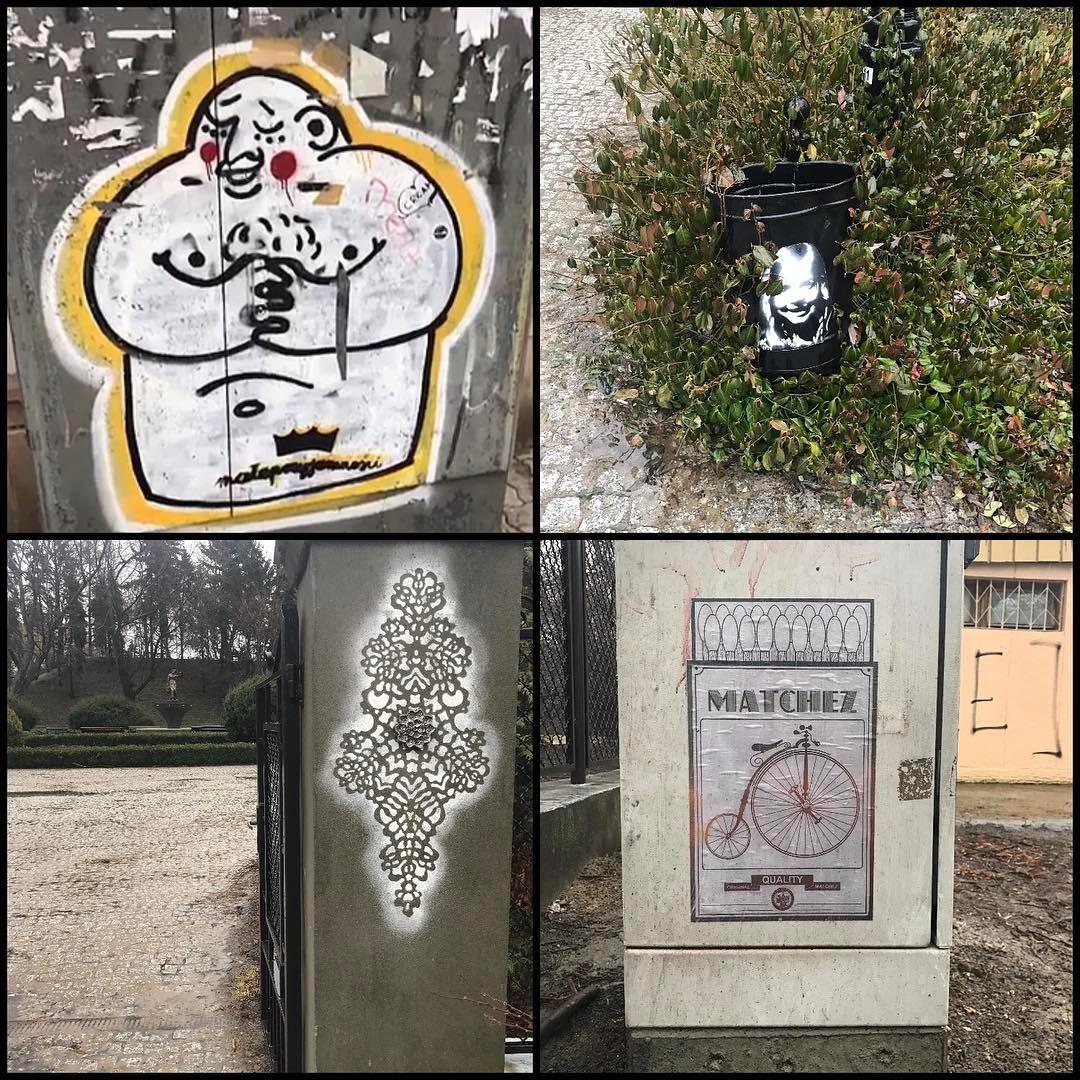 Jeszcze wiosny nie ma, a streetart na Żoliborzu kwitnie. #placwilsona #parkżeromskiego #żoliborz