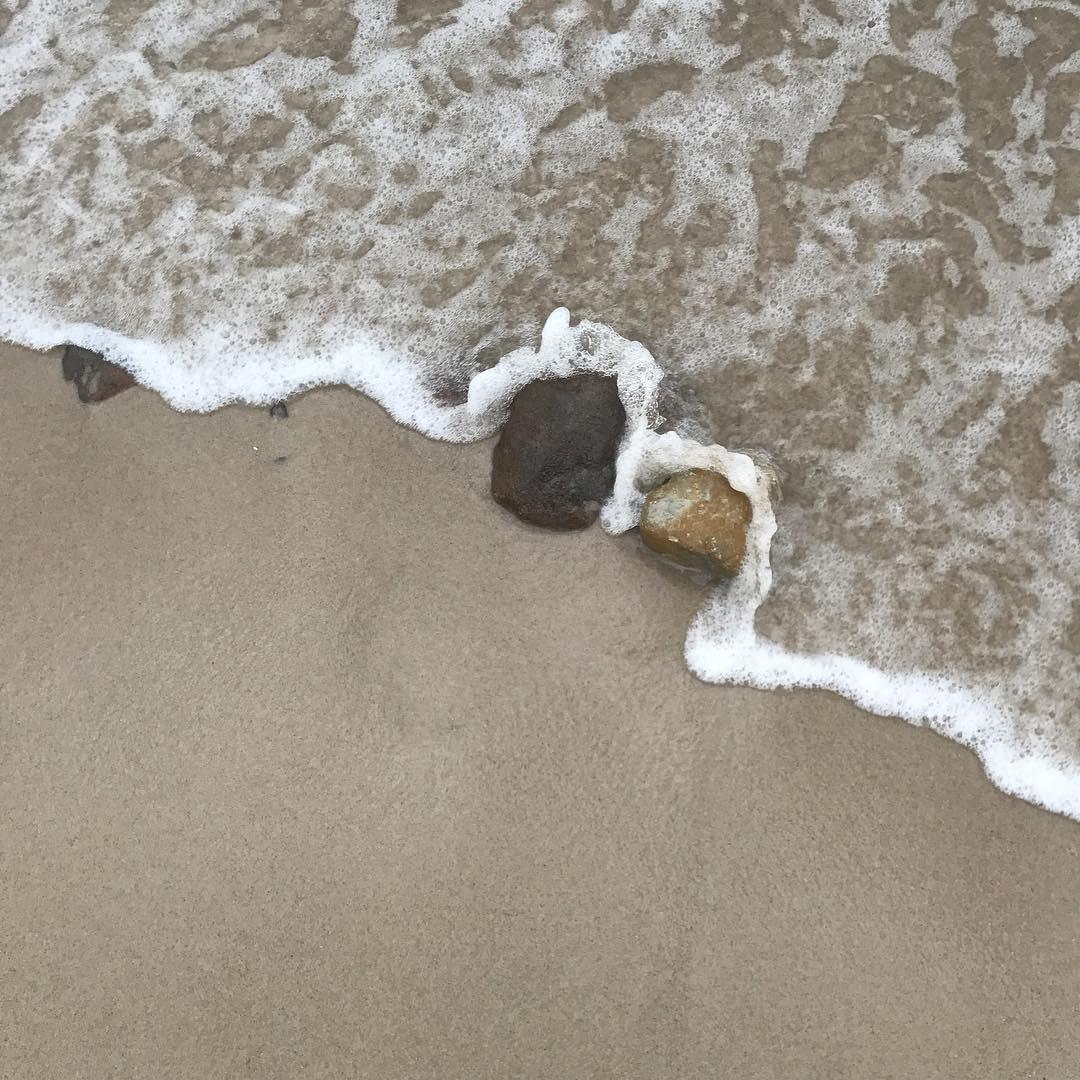 Uspokajające kamienie. #morze #sea #kuźnica #półwysephelski